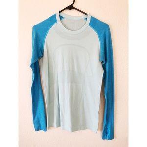 Lululemon blue size 6 athletic sleeve